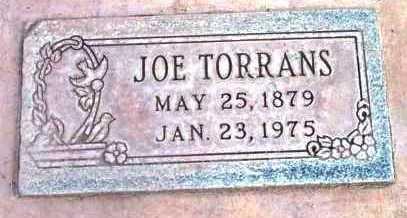 TORRANS, JOE - Yavapai County, Arizona   JOE TORRANS - Arizona Gravestone Photos