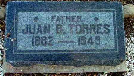 TORRES, JUAN B. - Yavapai County, Arizona | JUAN B. TORRES - Arizona Gravestone Photos