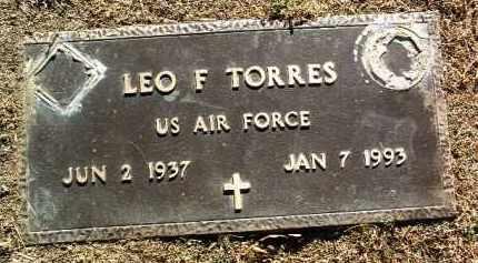 TORRES, LEO FREDERICK - Yavapai County, Arizona | LEO FREDERICK TORRES - Arizona Gravestone Photos