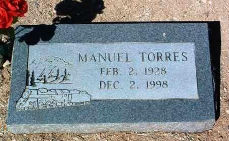 TORRES, MANUEL - Yavapai County, Arizona | MANUEL TORRES - Arizona Gravestone Photos