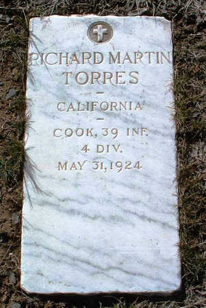 TORRES, RICHARD MARTIN - Yavapai County, Arizona   RICHARD MARTIN TORRES - Arizona Gravestone Photos