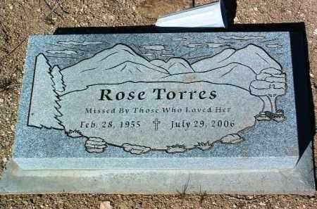 TORRES, ROSE - Yavapai County, Arizona | ROSE TORRES - Arizona Gravestone Photos