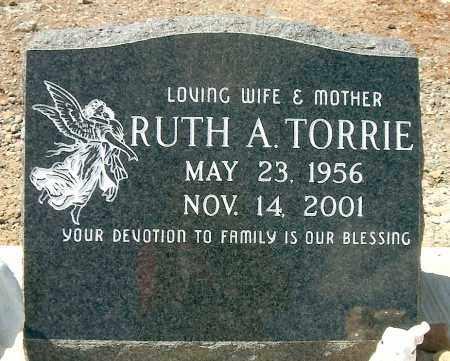 TORRIE, RUTH ANN - Yavapai County, Arizona   RUTH ANN TORRIE - Arizona Gravestone Photos