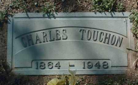 TOUCHON, CHARLES M. - Yavapai County, Arizona   CHARLES M. TOUCHON - Arizona Gravestone Photos