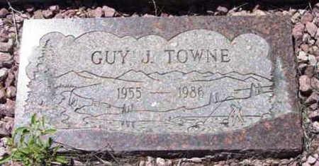TOWNE, GUY JOHN - Yavapai County, Arizona | GUY JOHN TOWNE - Arizona Gravestone Photos