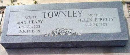 TOWNLEY, MAX HENRY - Yavapai County, Arizona | MAX HENRY TOWNLEY - Arizona Gravestone Photos