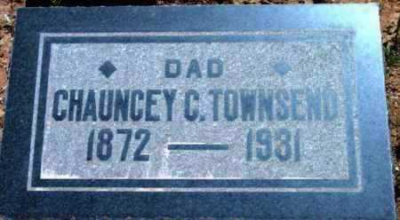 TOWNSEND, CHAUNCEY CLARENCE - Yavapai County, Arizona   CHAUNCEY CLARENCE TOWNSEND - Arizona Gravestone Photos