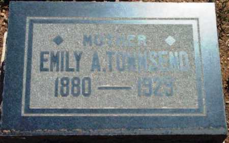 TOWNSEND, EMILY AMANDA - Yavapai County, Arizona   EMILY AMANDA TOWNSEND - Arizona Gravestone Photos