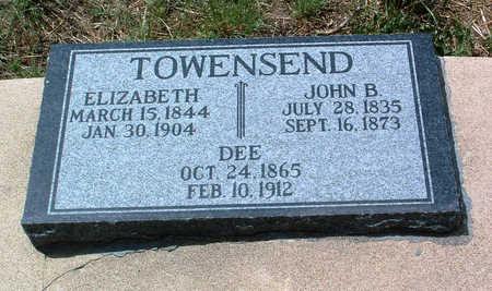 TOWNSEND, JOHN BENNETT - Yavapai County, Arizona | JOHN BENNETT TOWNSEND - Arizona Gravestone Photos
