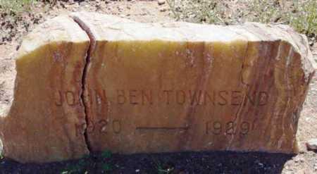 TOWNSEND, JOHN BENJAMIN - Yavapai County, Arizona | JOHN BENJAMIN TOWNSEND - Arizona Gravestone Photos