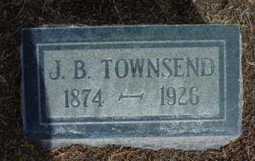 TOWNSEND, JOHN BENJAMIN - Yavapai County, Arizona   JOHN BENJAMIN TOWNSEND - Arizona Gravestone Photos