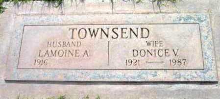 TOWNSEND, LAMOINE A. - Yavapai County, Arizona   LAMOINE A. TOWNSEND - Arizona Gravestone Photos