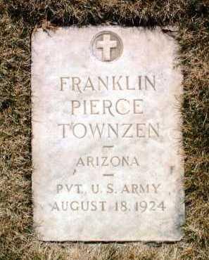 TOWNZEN, FRANKLIN PIERCE - Yavapai County, Arizona | FRANKLIN PIERCE TOWNZEN - Arizona Gravestone Photos