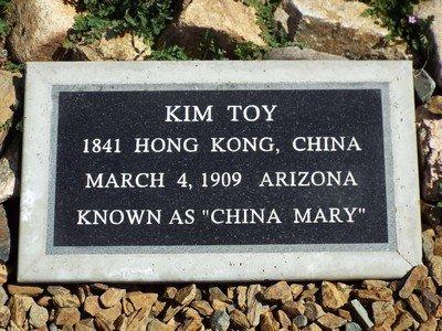 TOY, KIM (CHINA MARY) - Yavapai County, Arizona | KIM (CHINA MARY) TOY - Arizona Gravestone Photos