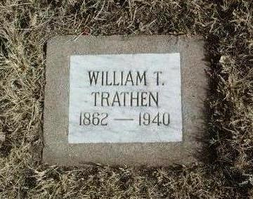 TRATHEN, WILLIAM T. - Yavapai County, Arizona | WILLIAM T. TRATHEN - Arizona Gravestone Photos