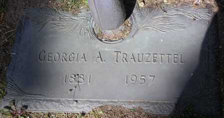 WOOLFOLK TRAUZETTEL, GEORGIA ANNA - Yavapai County, Arizona | GEORGIA ANNA WOOLFOLK TRAUZETTEL - Arizona Gravestone Photos