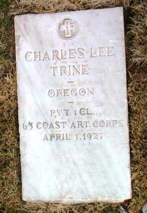 TRINE, CHARLES LEE / LEO - Yavapai County, Arizona | CHARLES LEE / LEO TRINE - Arizona Gravestone Photos