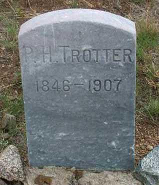 TROTTER, PHILIP H. - Yavapai County, Arizona   PHILIP H. TROTTER - Arizona Gravestone Photos
