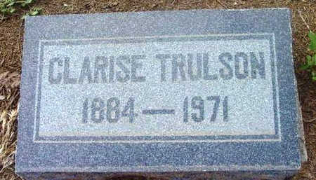 OLSON TRULSON, CLARISE - Yavapai County, Arizona | CLARISE OLSON TRULSON - Arizona Gravestone Photos