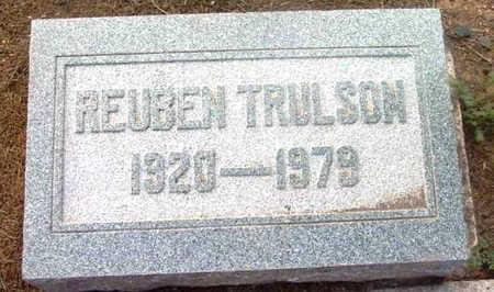 TRULSON, REUBEN - Yavapai County, Arizona   REUBEN TRULSON - Arizona Gravestone Photos