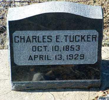 TUCKER, CHARLES EVANS - Yavapai County, Arizona   CHARLES EVANS TUCKER - Arizona Gravestone Photos