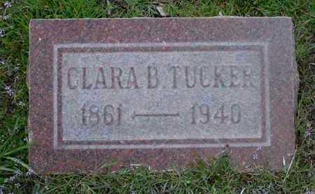 TUCKER, CLARA BELLE - Yavapai County, Arizona   CLARA BELLE TUCKER - Arizona Gravestone Photos