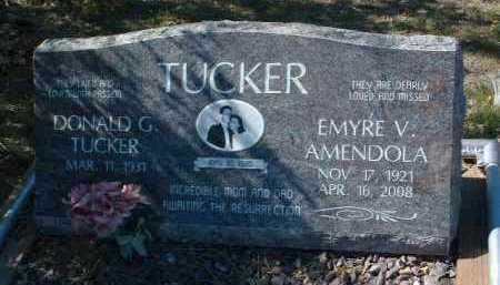 TUCKER, EMYRE V. - Yavapai County, Arizona | EMYRE V. TUCKER - Arizona Gravestone Photos
