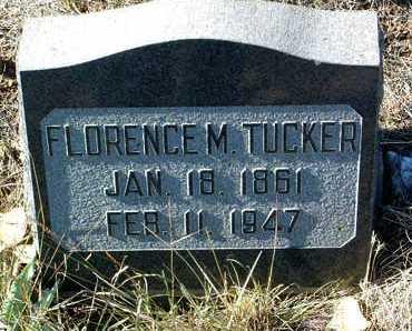 TUCKER, FLORENCE M. - Yavapai County, Arizona   FLORENCE M. TUCKER - Arizona Gravestone Photos