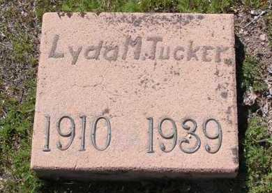 TUCKER, LYDA M. - Yavapai County, Arizona | LYDA M. TUCKER - Arizona Gravestone Photos