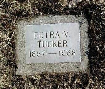 TUCKER, PETRA V. - Yavapai County, Arizona | PETRA V. TUCKER - Arizona Gravestone Photos
