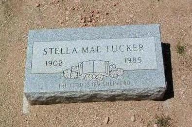 TUCKER, STELLA MAE - Yavapai County, Arizona   STELLA MAE TUCKER - Arizona Gravestone Photos