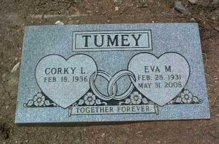 TUMEY, CORKY L. - Yavapai County, Arizona | CORKY L. TUMEY - Arizona Gravestone Photos