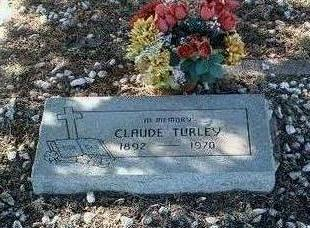 TURLEY, CLAUDE - Yavapai County, Arizona | CLAUDE TURLEY - Arizona Gravestone Photos