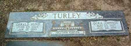 TURLEY, GERALD HUNT - Yavapai County, Arizona   GERALD HUNT TURLEY - Arizona Gravestone Photos