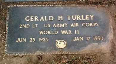 TURLEY, GERALD HUNT - Yavapai County, Arizona | GERALD HUNT TURLEY - Arizona Gravestone Photos