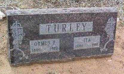 TURLEY, ORMUS FLAKE - Yavapai County, Arizona | ORMUS FLAKE TURLEY - Arizona Gravestone Photos
