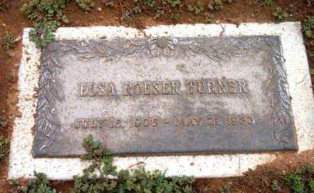 TURNER, ELSA M. - Yavapai County, Arizona   ELSA M. TURNER - Arizona Gravestone Photos