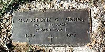 TURNER, GLADSTONE C. - Yavapai County, Arizona | GLADSTONE C. TURNER - Arizona Gravestone Photos