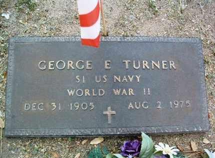 TURNER, GEORGE E. - Yavapai County, Arizona   GEORGE E. TURNER - Arizona Gravestone Photos