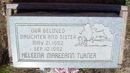 TURNER, HELEENA MAREEANN - Yavapai County, Arizona | HELEENA MAREEANN TURNER - Arizona Gravestone Photos