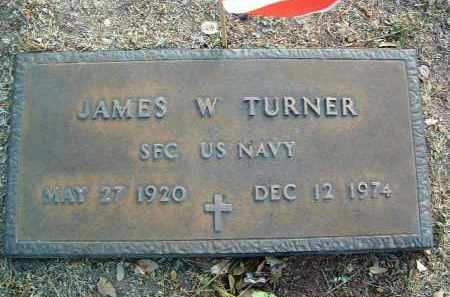 TURNER, JAMES WESLEY - Yavapai County, Arizona | JAMES WESLEY TURNER - Arizona Gravestone Photos