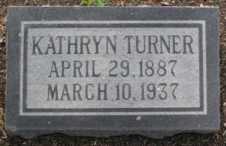 TURNER, CLARA KATHRYN - Yavapai County, Arizona | CLARA KATHRYN TURNER - Arizona Gravestone Photos