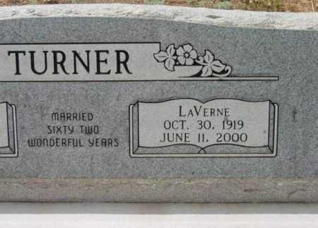 TURNER, LAVERNE - Yavapai County, Arizona | LAVERNE TURNER - Arizona Gravestone Photos