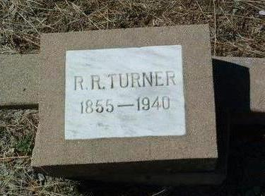 TURNER, RUFUS RANDOLPH - Yavapai County, Arizona | RUFUS RANDOLPH TURNER - Arizona Gravestone Photos