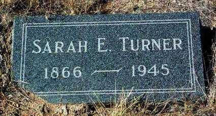 TURNER, SARAH ELIZABETH - Yavapai County, Arizona | SARAH ELIZABETH TURNER - Arizona Gravestone Photos