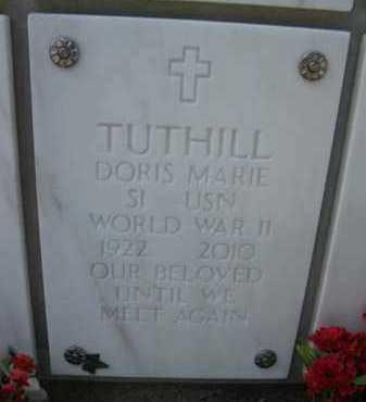 TUTHILL, DORIS MARIE - Yavapai County, Arizona | DORIS MARIE TUTHILL - Arizona Gravestone Photos