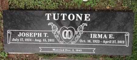 BALLETTI TUTONE, IRMA E. - Yavapai County, Arizona | IRMA E. BALLETTI TUTONE - Arizona Gravestone Photos