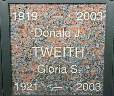 TWEITH, DONALD JAMES - Yavapai County, Arizona | DONALD JAMES TWEITH - Arizona Gravestone Photos
