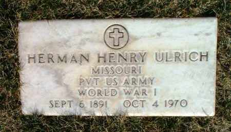 ULRICH, HERMAN HENRY - Yavapai County, Arizona | HERMAN HENRY ULRICH - Arizona Gravestone Photos