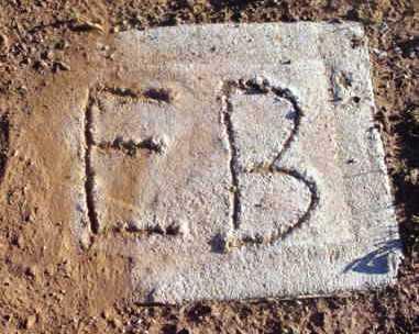 UNKNOWN, E. B. - Yavapai County, Arizona   E. B. UNKNOWN - Arizona Gravestone Photos